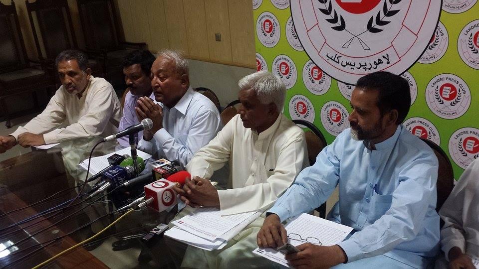 Press Conference on May 29, 2015 at Lahore Press Club