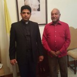 Meeting with Apostolic Nunciature (Embassy of the Holy See) in Pakistan Msgr. Joseph Maramreddy Deputy Head of Mission