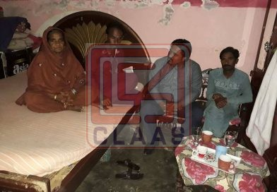 CLAAS team visited Noman's family for condolence