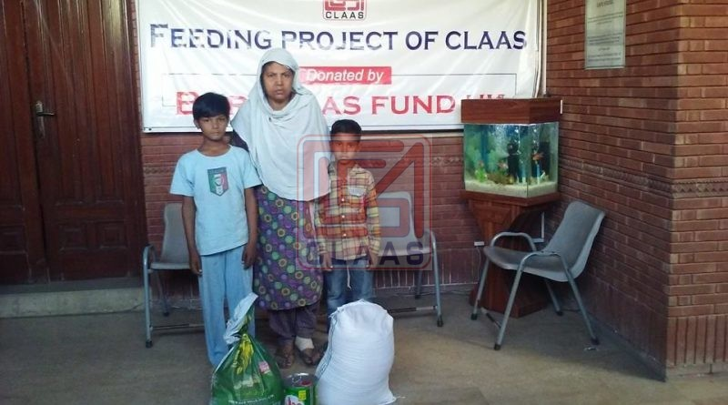 CLASS provides monthly food items