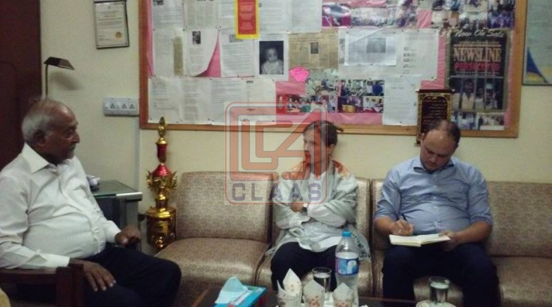 Her Excellency Jeannette Seppen, the Ambassador of Netherlands in Pakistan, visited CLAAS office
