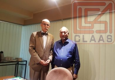 CLAAS attended a meeting called by His Excellency Mr. Jean Francois Cautian
