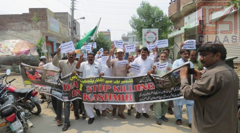 CLAAS express solidarity with Kashmiris
